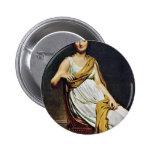 Portrait Of Madame De Verninac By David Jacques-Lo Buttons