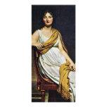 Portrait Of Madame De Verninac By David Jacques-Lo Rack Cards