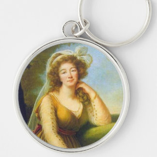 Portrait of Madame du Barry Keychain