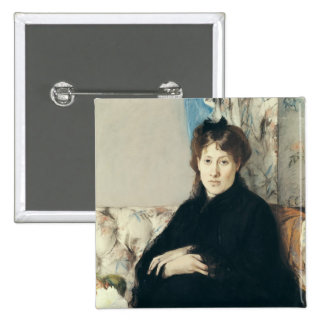 Portrait of Madame Edma Pontillon  1871 Pin