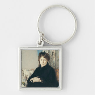 Portrait of Madame Edma Pontillon  1871 Keychain