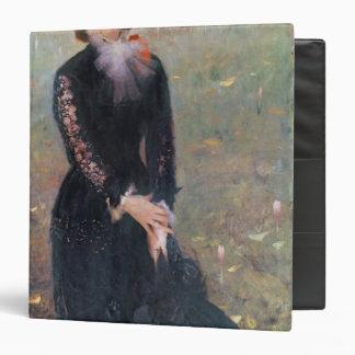 Portrait of Madame Edouard Pailleron, 1879 3 Ring Binder