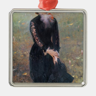 Portrait of Madame Edouard Pailleron, 1879 Metal Ornament