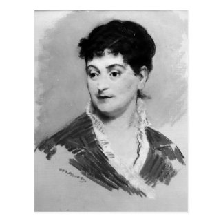 Portrait of Madame Emile Zola, 1874 Postcard