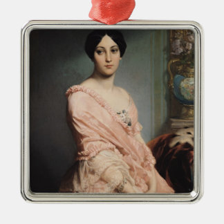 Portrait of Madame F, 1850-51 Metal Ornament