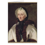 Portrait of Madame Francoise de Graffigny Greeting Cards
