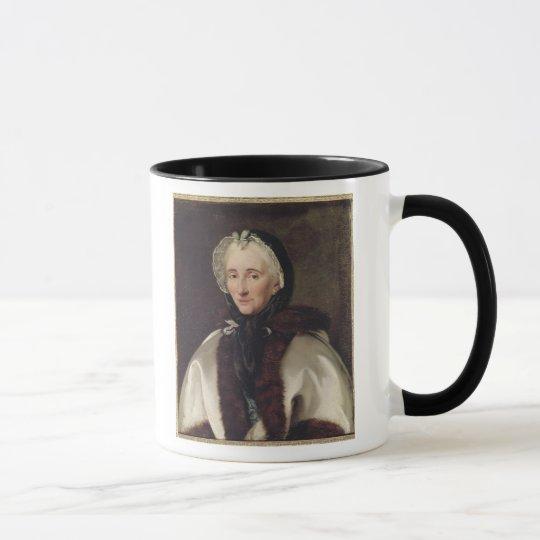 Portrait of Madame Francoise de Graffigny Mug