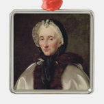 Portrait of Madame Francoise de Graffigny Christmas Ornament