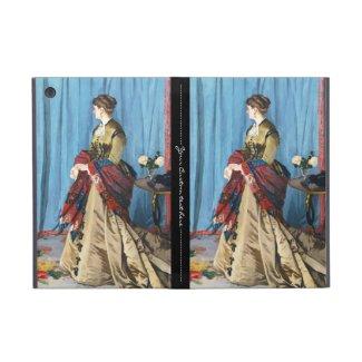 Portrait of Madame Gaudibert Claude Monet Covers For iPad Mini