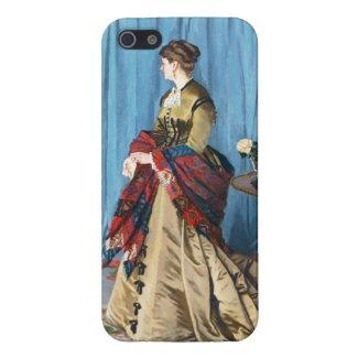 Portrait of Madame Gaudibert Claude Monet iPhone 5 Case