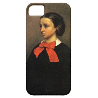Portrait of Madame Jacquet (oil on canvas) iPhone SE/5/5s Case