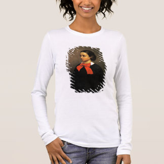 Portrait of Madame Jacquet (oil on canvas) Long Sleeve T-Shirt