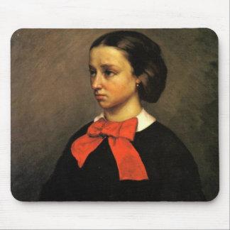Portrait of Madame Jacquet (oil on canvas) Mouse Pad