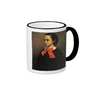 Portrait of Madame Jacquet (oil on canvas) Coffee Mug