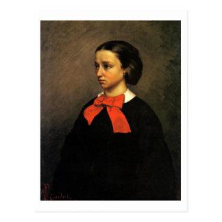 Portrait of Madame Jacquet (oil on canvas) Postcard