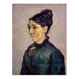 Portrait of Madame Jeanne Lafuye Trabuc, 1889 Postcard