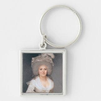 Portrait of Madame Jeanne-Louise-Henriette Campan Key Chain