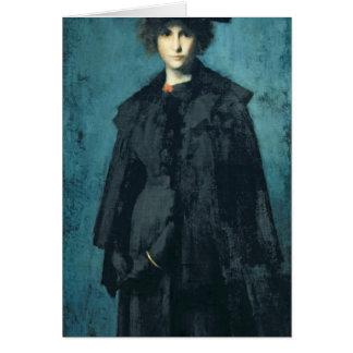 Portrait of Madame Laura Leroux Greeting Card
