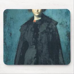 Portrait of Madame Laura Leroux Mouse Pad