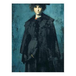 Portrait of Madame Laura Leroux Postcard