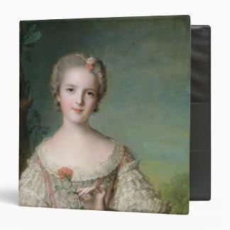 Portrait of Madame Louise de France 3 Ring Binder