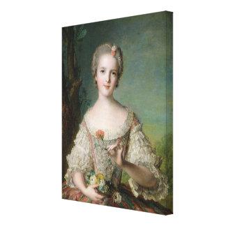 Portrait of Madame Louise de France Canvas Print