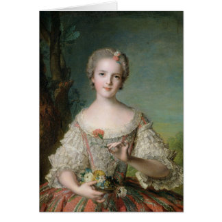 Portrait of Madame Louise de France Card
