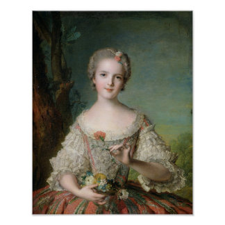 Portrait of Madame Louise de France Poster