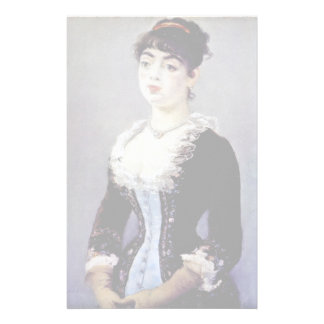 Portrait Of Madame Michel-Levy By Manet Edouard Custom Stationery