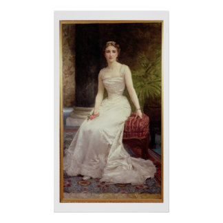 Portrait of Madame Olry-Roederer, 1900 (oil on can Poster