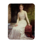 Portrait of Madame Olry-Roederer, 1900 (oil on can Vinyl Magnets