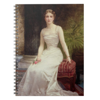 Portrait of Madame Olry-Roederer, 1900 (oil on can Spiral Notebook