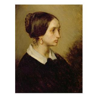 Portrait of Madame Ono, 1844 Postcard