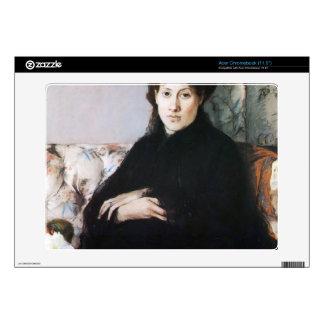 Portrait of Madame Pontillon by Berthe Morisot Skins For Acer Chromebook