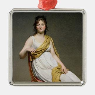 Portrait of Madame Raymond de Verninac  1798-99 Christmas Ornament