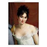 Portrait of Madame Recamier Card