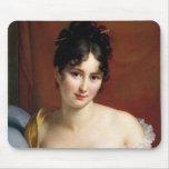 Portrait of Madame Recamier Mouse Pads