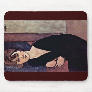 Portrait Of Madame Reynouard By Modigliani Amedeo Mouse Pad