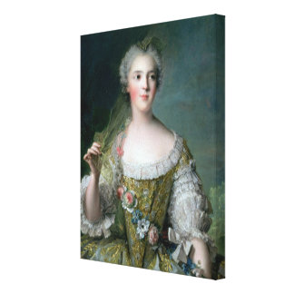 Portrait of Madame Sophie Canvas Print