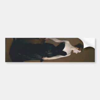 Portrait of Madame X by John Singer Sargent, 1884 Bumper Sticker