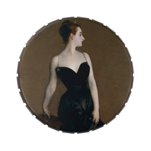 Portrait of Madame X by John Singer Sargent, 1884 Jelly Belly Tin