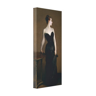 Portrait of Madame X by John Singer Sargent, 1884 Canvas Print