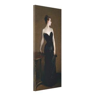 Portrait of Madame X by John Singer Sargent, 1884 Canvas Print