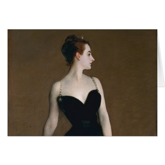 Portrait of Madame X by John Singer Sargent, 1884 Card