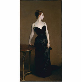 Portrait of Madame X by John Singer Sargent, 1884 Cutout