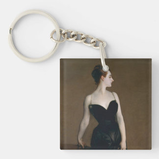 Portrait of Madame X by John Singer Sargent, 1884 Keychain