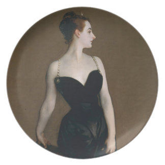 Portrait of Madame X by John Singer Sargent, 1884 Plate