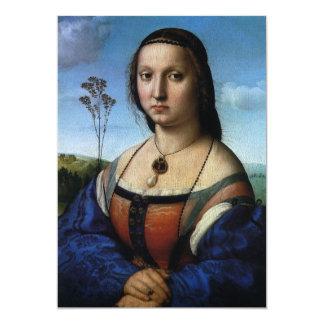 Portrait of Maddalena Doni by Raphael or Raffaello Card