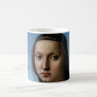 Portrait of Maddalena Doni by Raphael or Raffaello Coffee Mug