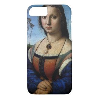 Portrait of Maddalena Doni by Raphael or Raffaello iPhone 7 Case